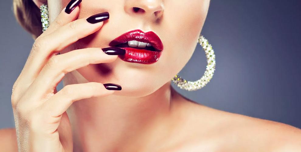 Мужской и женский маникюр, покрытие гель-лаком в студии красоты Cherry beauty club