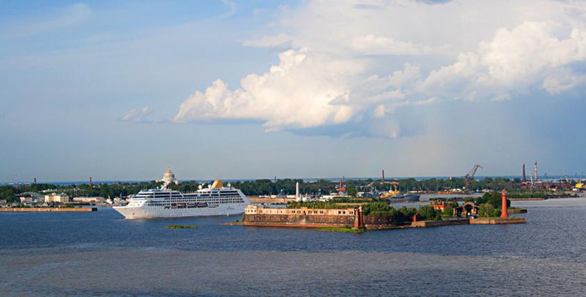 "Морская прогулка по фортам Кронштадта на теплоходе ""Калан"" от компании Seafort.spb"