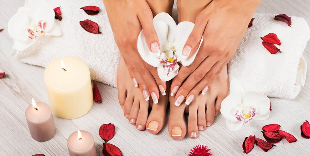 Маникюр, педикюр, покрытие гель-лаком, наращивание ногтей встудии «Модный маникюр»