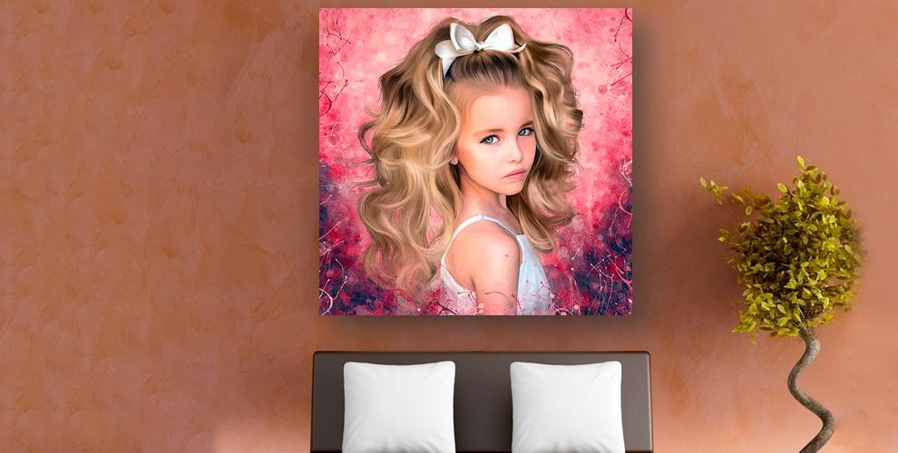 Студия портретов нахолстах ARTсolors: портреты встиле «Гранж», «Поп-арт», «Шарж»