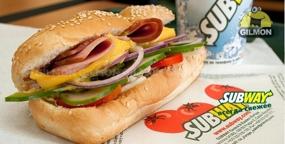subway sandwiches entry mode