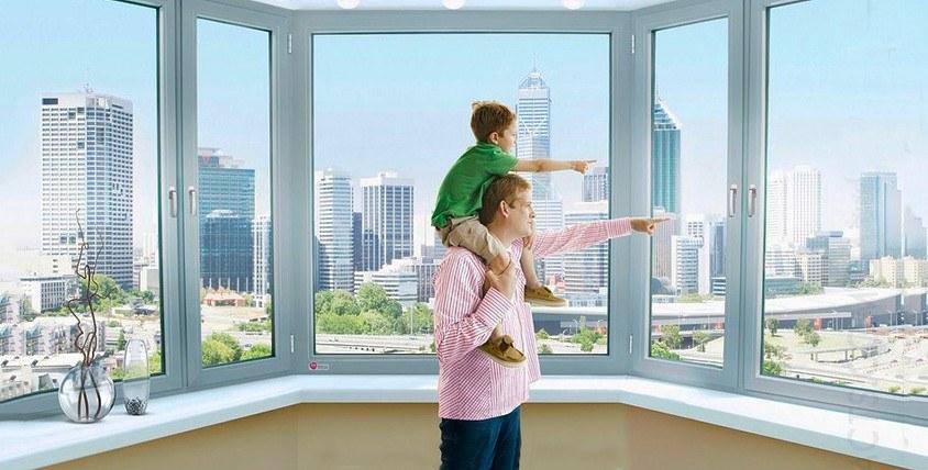 """Окна ПВХ или остекление балконного блока от компании  """"Симплекс Оптима"""""""