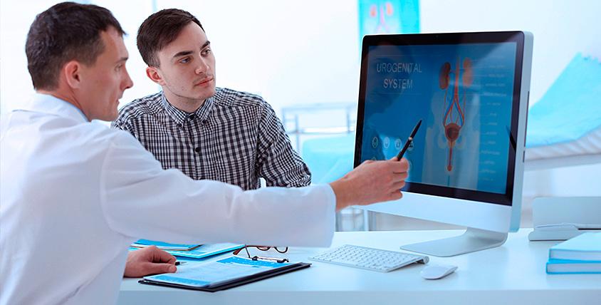 """Общее обследование для мужчин, УЗИ и ПЦР-диагностика в клинике """"Виталь"""""""