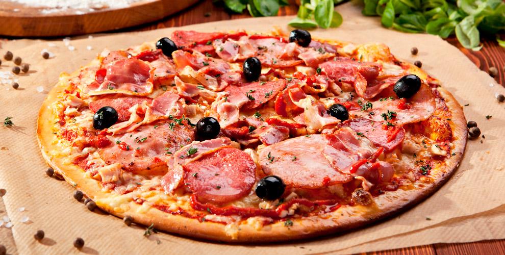 Меню пиццы, пирогов ихачапури отслужбы доставки DaVinci
