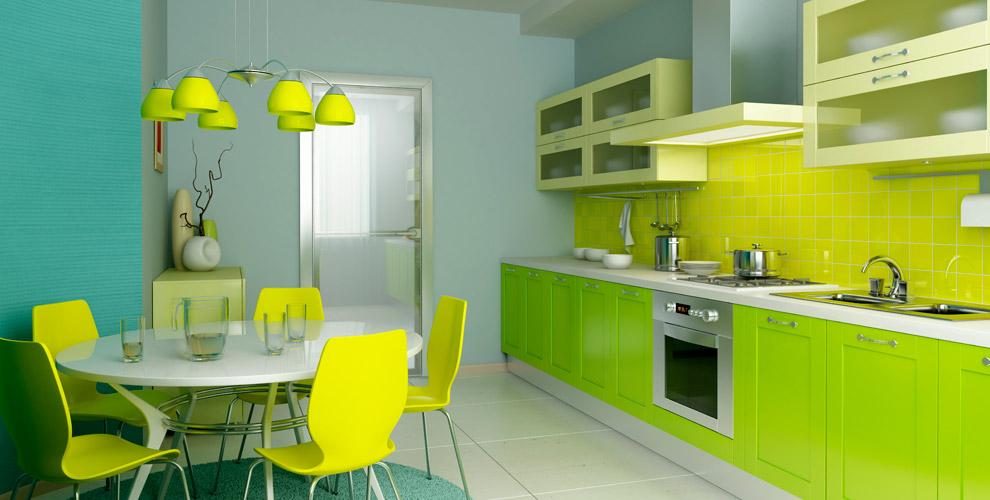 Кухонный гарнитур любого размера сфасадами откомпании StyleIS