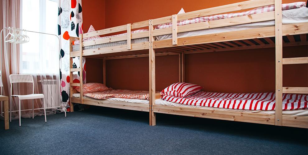 Проживание вобщем илидвухместном номере вEKB-City Hostel