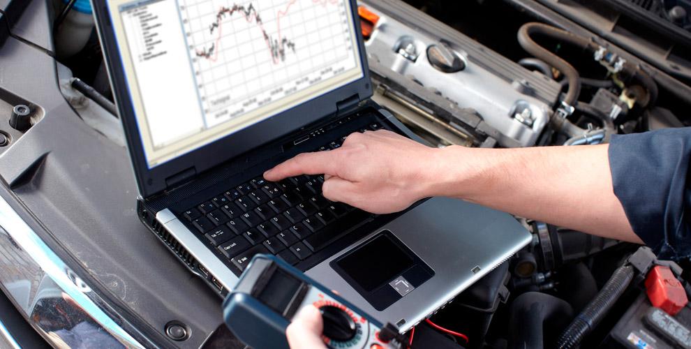 Компьютерная диагностика двигателя и электронных систем в автосервисе Iskra
