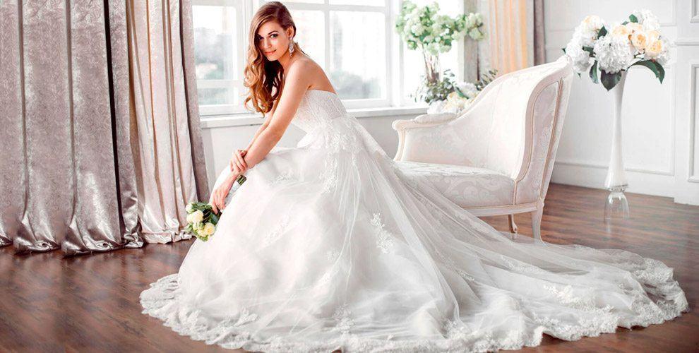 """Ассортимент свадебных платьев в салоне """"Платье мечты"""""""