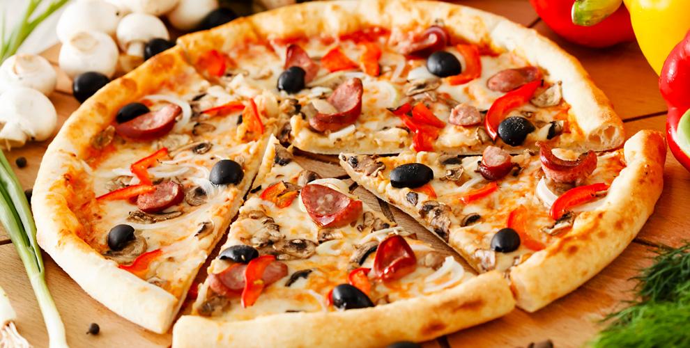 Пицца, осетинские пироги и другое от службы доставки Mega Pizza
