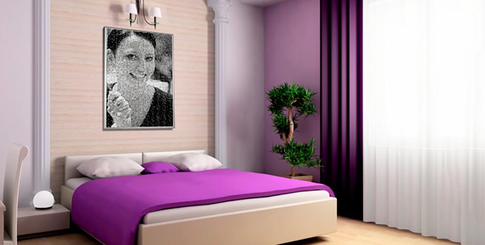 Создание картины из фото от онлайн фото-сервиса «ФОТО-ПЛАКАТ.РУ»