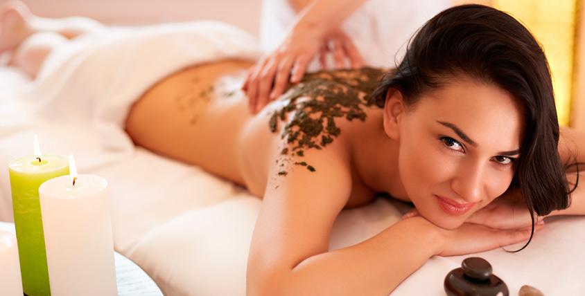 Стоун-терапия, массаж, обертывание в студии красоты Camille Albane