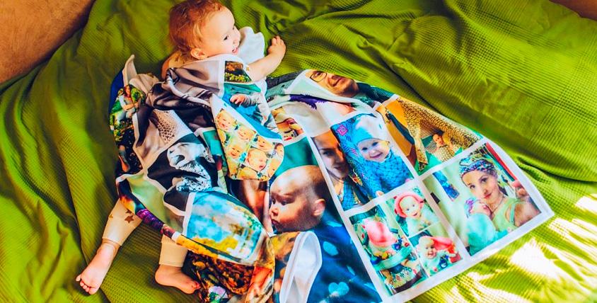 Печать любого изображения на пледе от интернет-магазина uwwi.ru