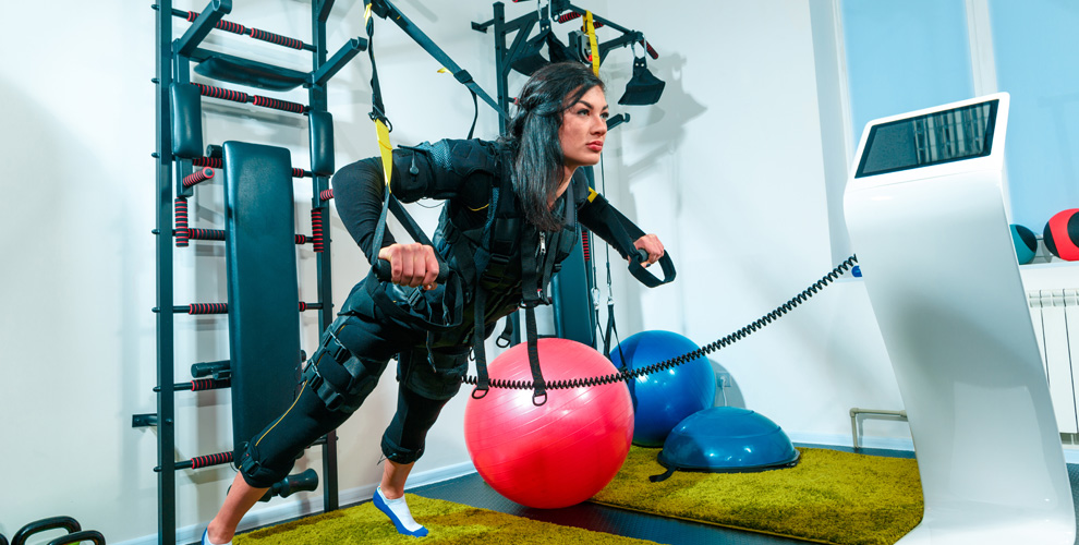 Абонементы назанятия наEMS-тренажере встудии BodyLab Fitness