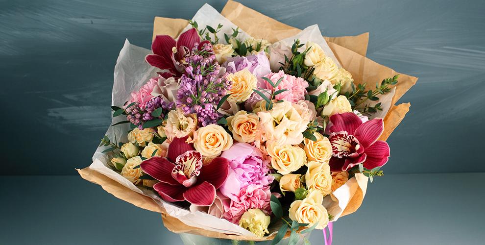 Розы, монобукеты икомпозиции вцветочном магазине «Полисадник63»