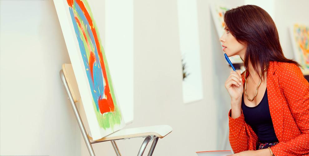 Мастер-класс по живописи в образовательном центре Arena Center