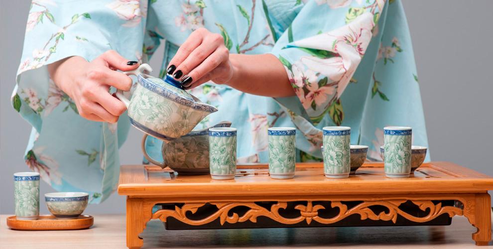 Чайная церемония и мастер-класс китайской каллиграфии от компании Panda School