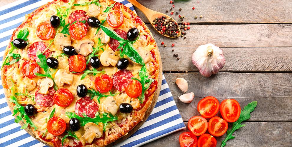 Все меню пиццы и осетинских пирогов от службы доставки Mosi Mosi