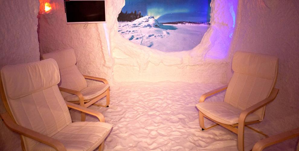Посещение соляной пещеры от компании «Северное сияние»
