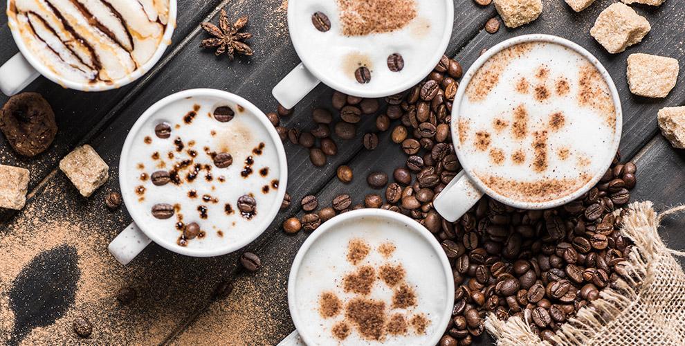 Меню кофе в кофейне Traveler's Coffee