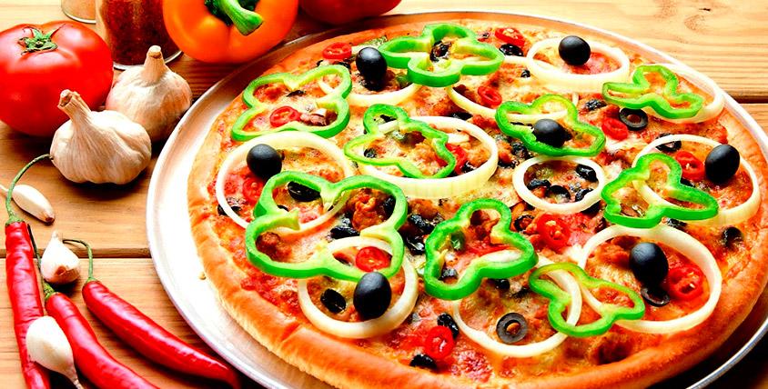 """Получите круг ароматного удовольствия! Все меню пиццы от службы доставки """"Донна Пиццоне"""""""
