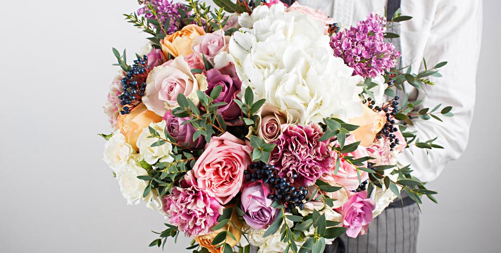 Милые букеты и необычные композиции от цветочного бутика Cat-Bouquet
