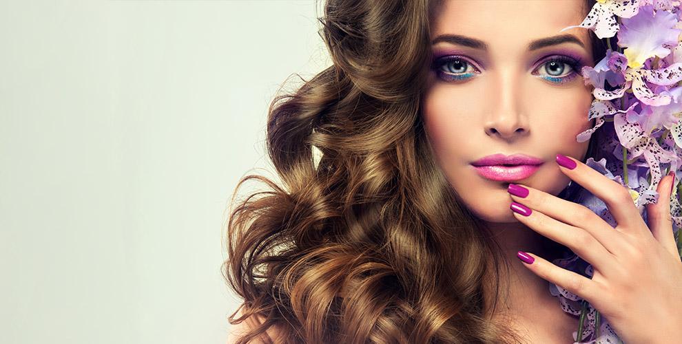 Маникюр, парикмахерские услуги, макияж и окрашивание бровей в салоне «Леди Айнура»