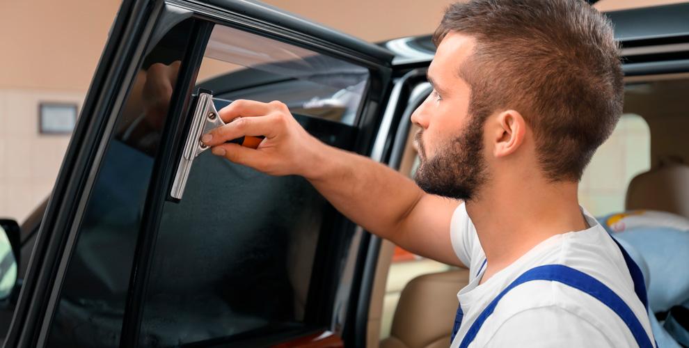 Тонировка стекол автомобиля в тюнинг-ателье MOD