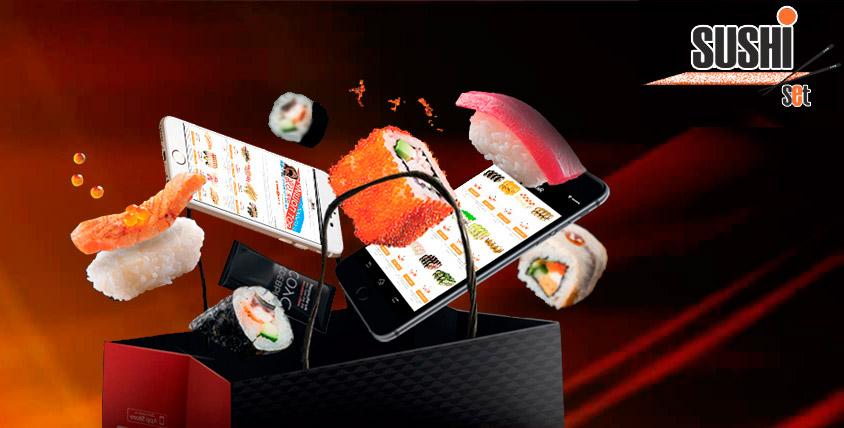 Новогоднее предложение! Специальная цена на наборы от ресторана доставки «Суши Сет»