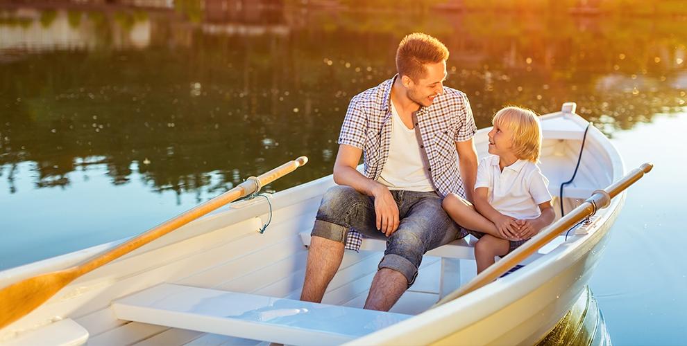 Прокат весельной лодки, аренда беседки ибунгало отпляжного комплекса SunDali