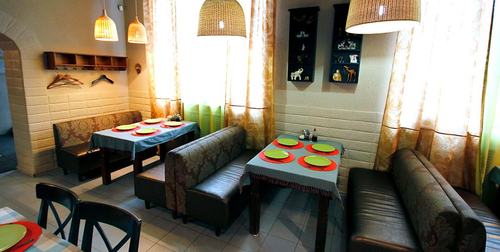 Основное меню восточной кухни в кафе «Салам»