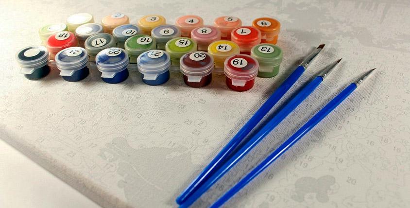 Картины-раскраски по номерам на выбор от интернет-магазина Gamma-raskrasok