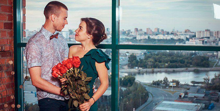 """Уютное, романтическое свидание на крыше и розыгрыш от организации """"Лучший подарок"""""""
