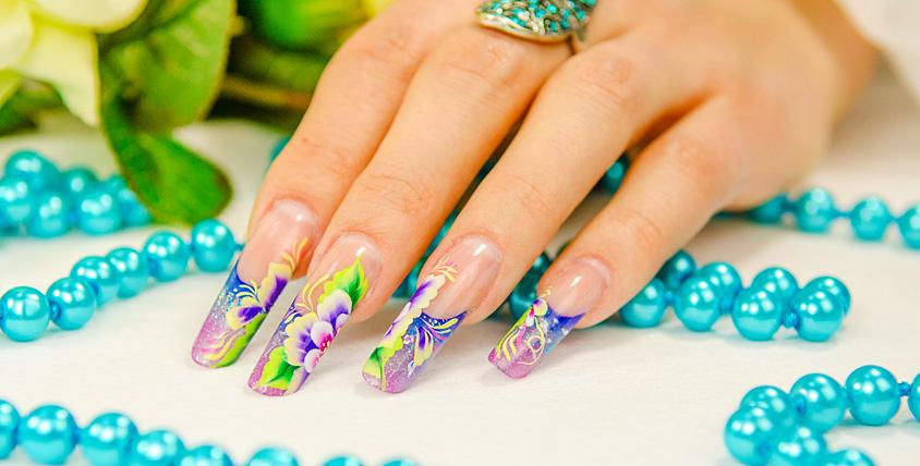Европейский и комбинированный маникюр, покрытие ногтей гель-лаком и китайская роспись в студии красоты Anasteisha style