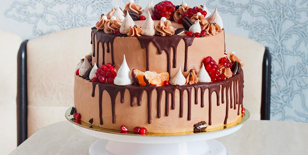 """Праздничные торты на выбор от кондитерского дома """"Домашняя кондитерская"""""""