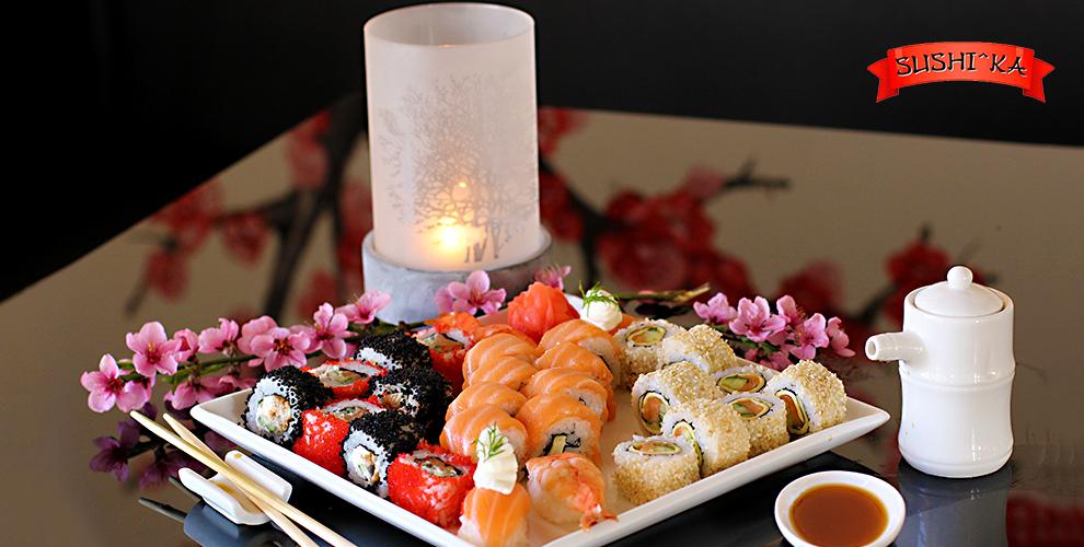 Непередаваемый вкус: меню роллов, буррито и наборов в ресторане доставки Sushilka
