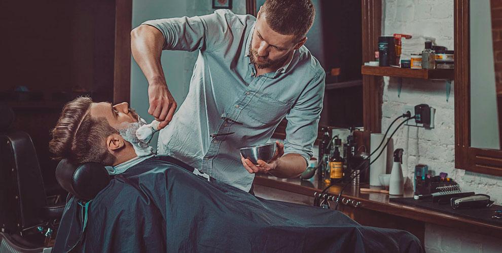 Gentlemens Barbershop: парикмахерские услуги для мужчин и детей, «Королевское бритье»