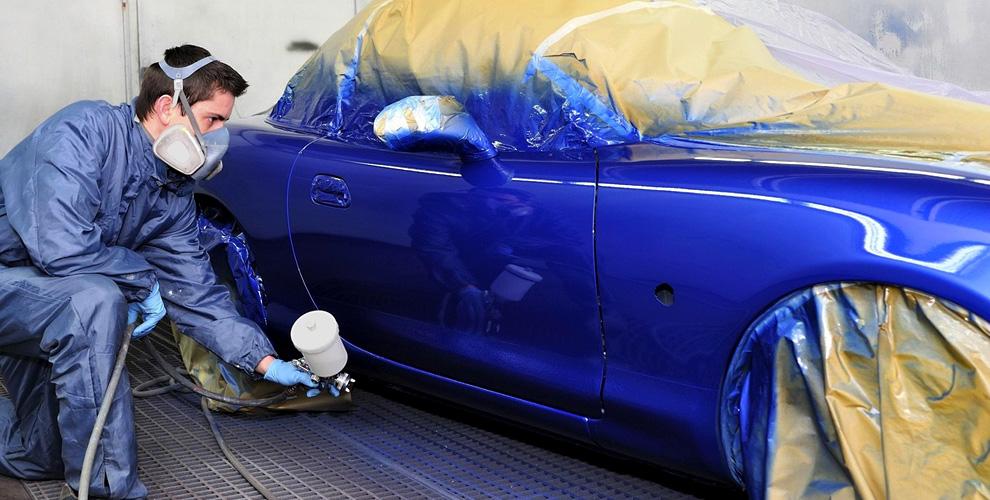 Полировка деталей ипокраска новых элементов автомобиля вавтомастерской ArtGarage