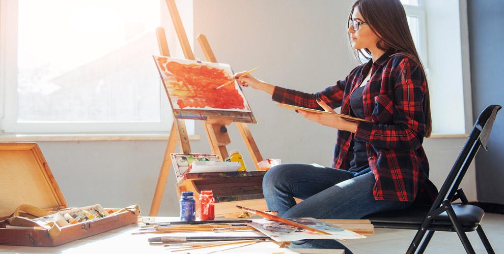 Мастер-класс по рисованию для взрослых и детей в студии Art-Party