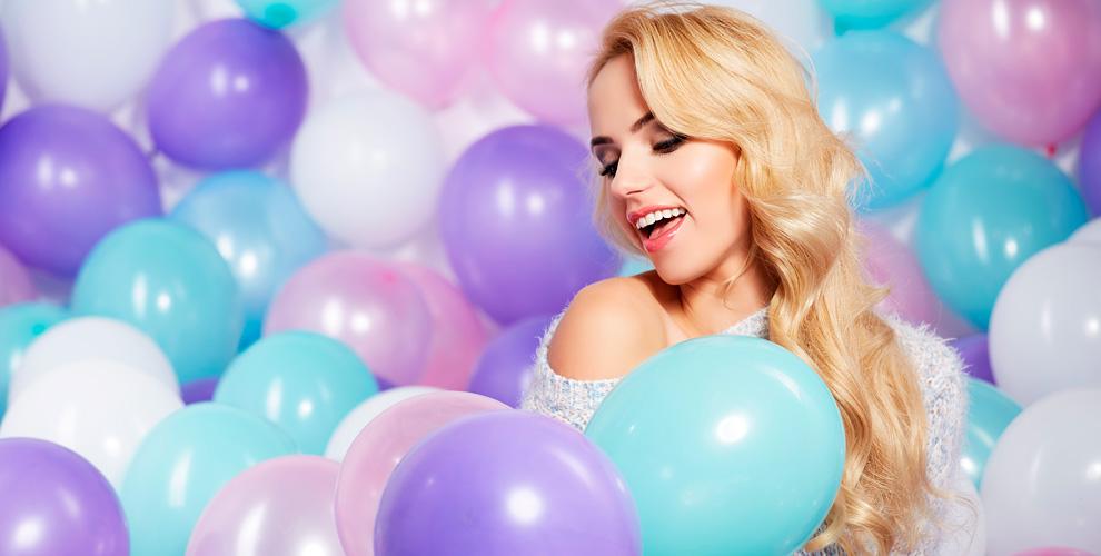 Гелиевые шары и праздничные композиции в агентстве «Абордаж»