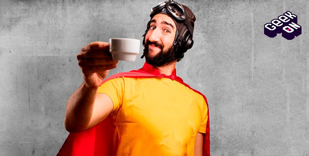 Магазин комиксов GeekON в ТРК «Горки»: кофе, чай, какао и другие горячие напитки
