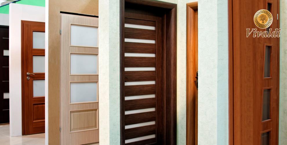 Разнообразные межкомнатные двери вмагазине «Вивальди»