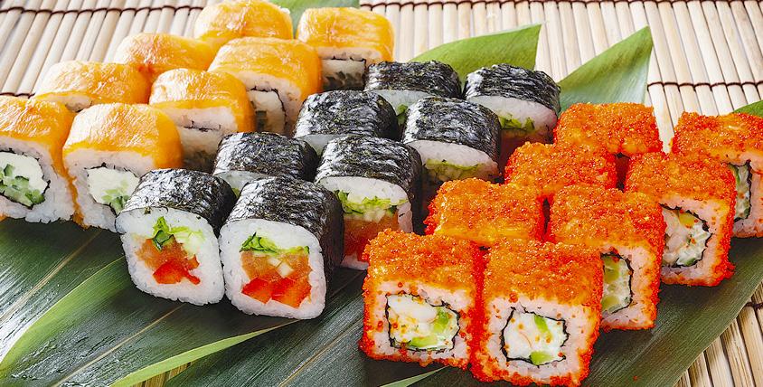 """Все меню сетов от ресторана доставки """"Суши-Маркет Сибирь"""". Волнующий и необыкновенный мир Японии!"""