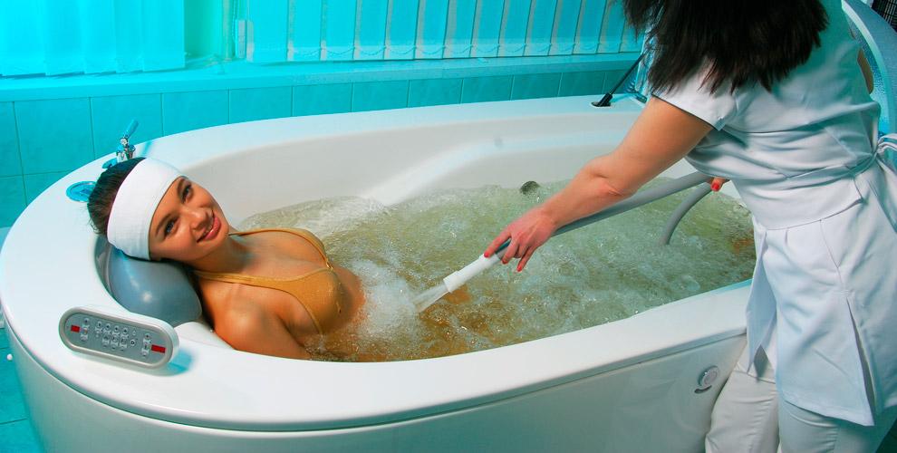 «Поликлиника №3»:душ-массаж, криосауна, обертывание, озонотерапия, пилинг