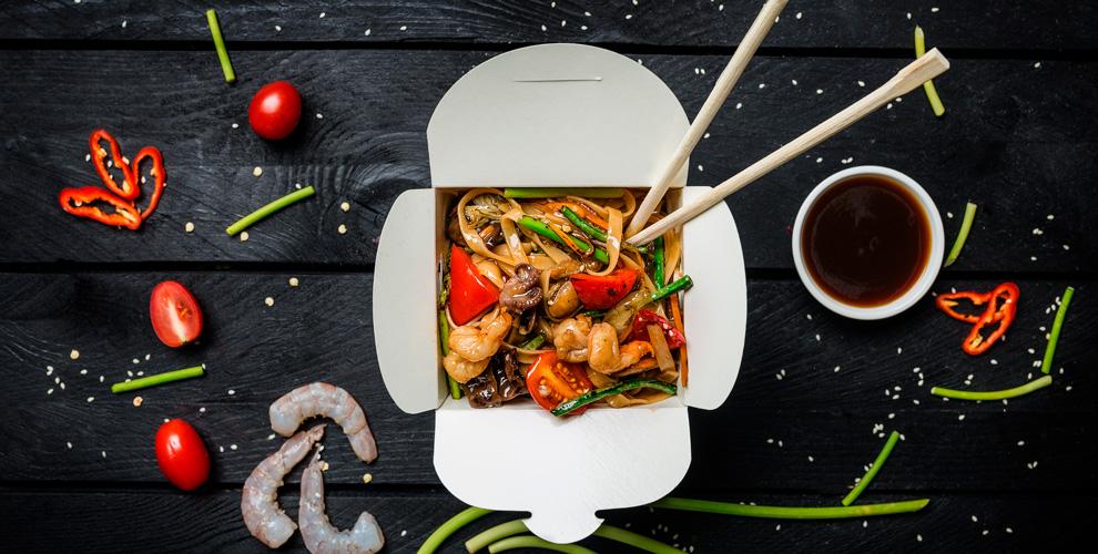 «Япон бульон»: лапша в коробочках, супы, салаты, закуски и безалкогольные напитки