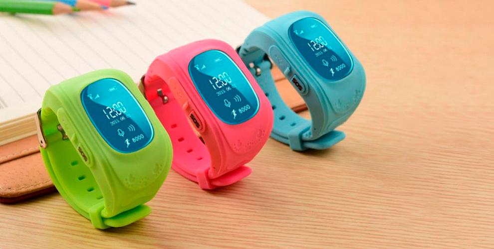 Детские часы с GPS трекером и функцией телефона.