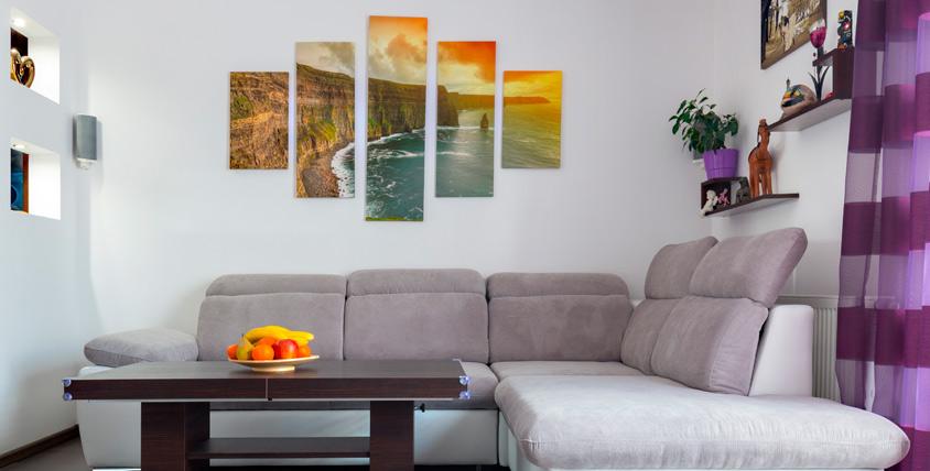 """Модульные картины, печать фото или картины на холсте от компании """"Энджойпринт"""""""