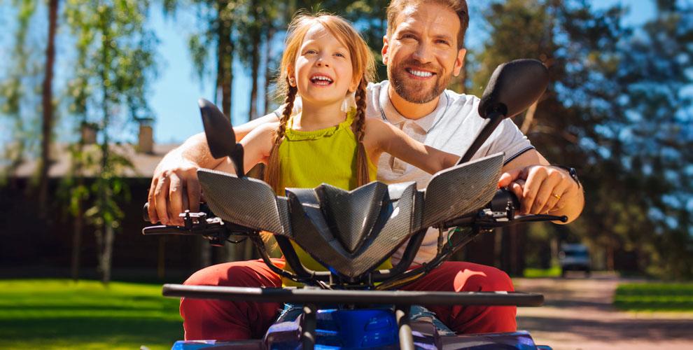 Турнаквадроцикле длядетей ивзрослых вклубе «Пилот»