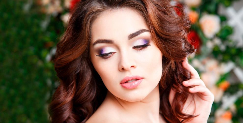 Маникюр, покрытие гель-лаком, наращивание ресниц и макияж в студии Людмилы Лирэн