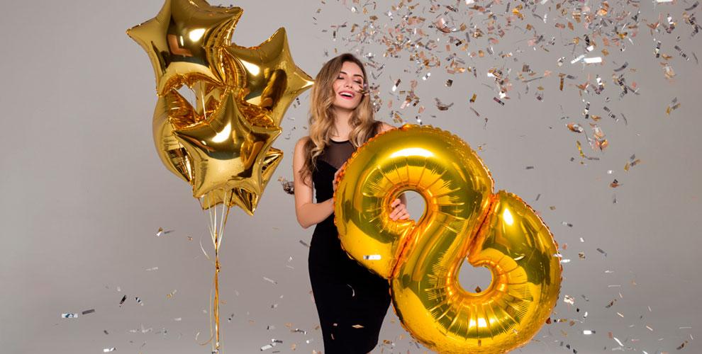 «Гелиевые и воздушные шары»: гелиевые шары, фольгированная цифра, сердце и другое