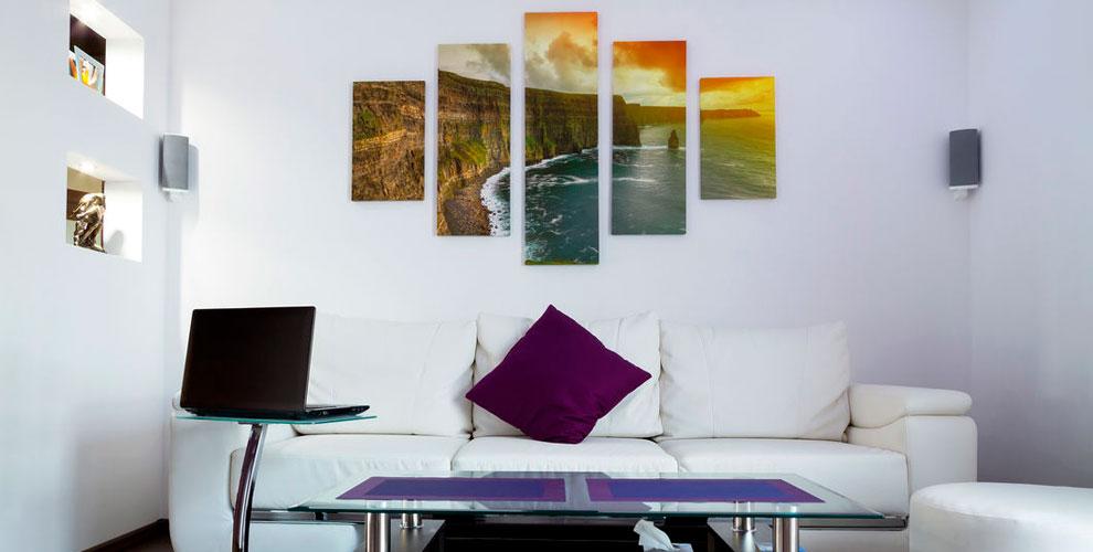 Печать изображения на холсте в фотомастерской «ФОТОМАГИЯ»